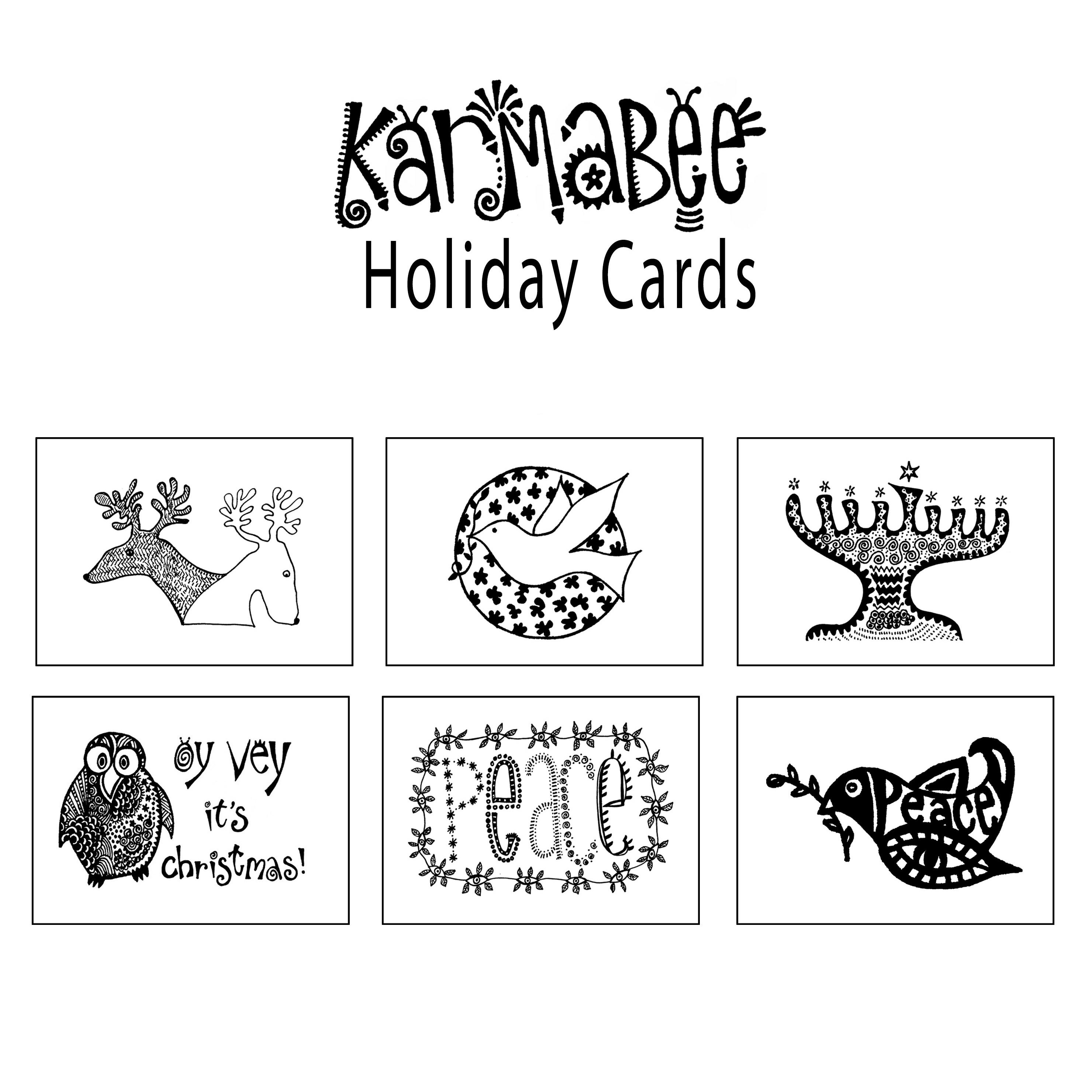 <Karmabee Holiday Cards image>