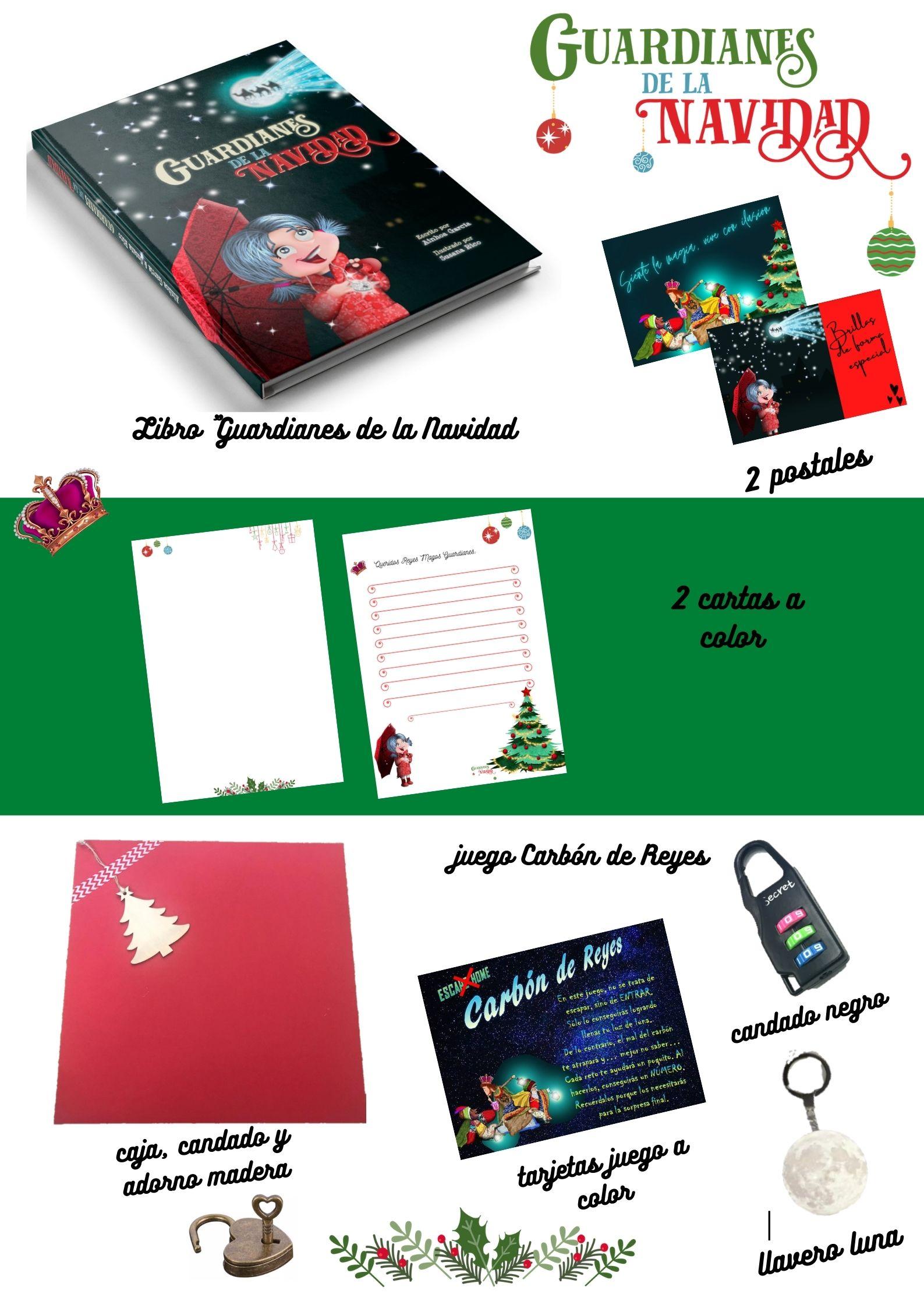 Pack 3: Carbón de Reyes