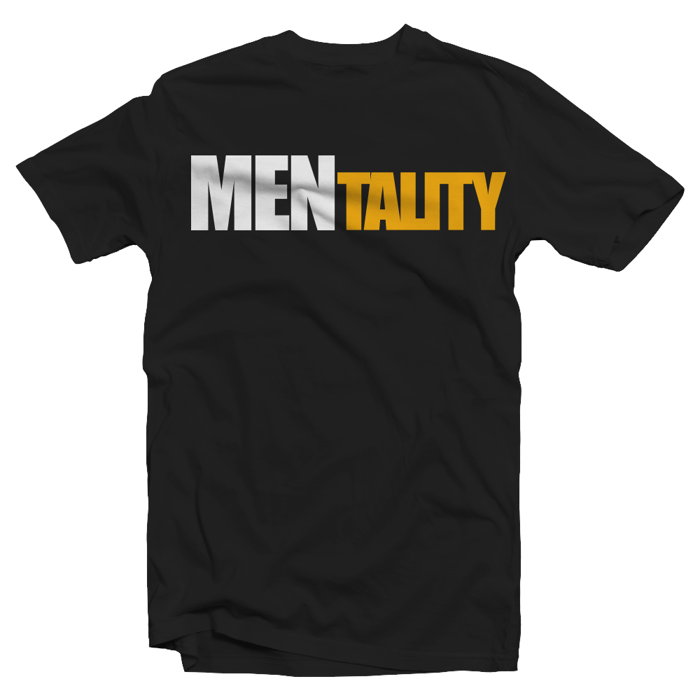 Order the Official MENtality Black Tee: