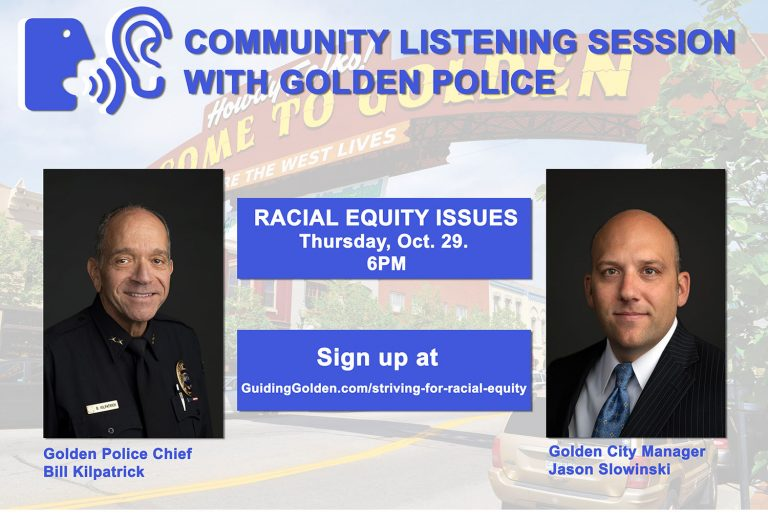 Golden Police Dept Listening Session