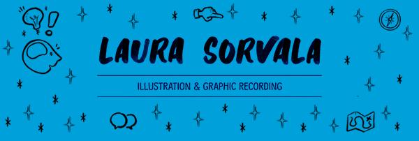 Laura Sorvala Illustration logo