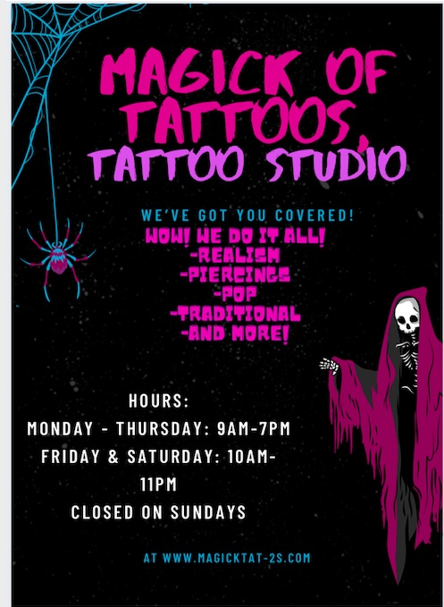 Tattoo Studio Posters