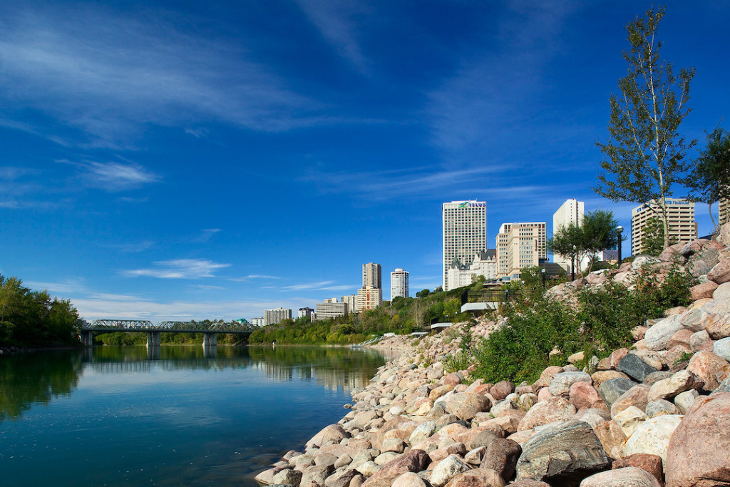 A photo of Louise McKinney Riverfront Park.