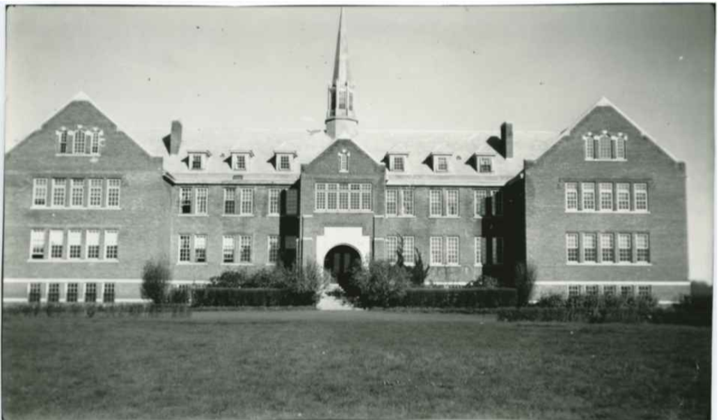 The Edmonton Indian Residential School closed in 1967, and the property later became the home of Poundmaker's Lodge. (Courtesy of the Indian Residential School History and Dialogue Centre)