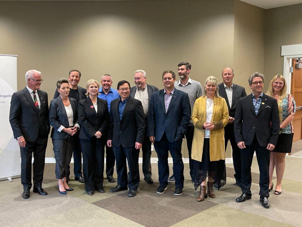 A photo of the current Edmonton Metropolitan Region Board.