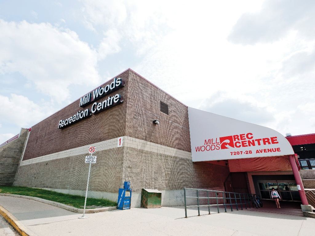 The arena in the Mill Woods Recreation Centre will reopen but the pool, gyms, and courts will remain closed. (City of Edmonton)