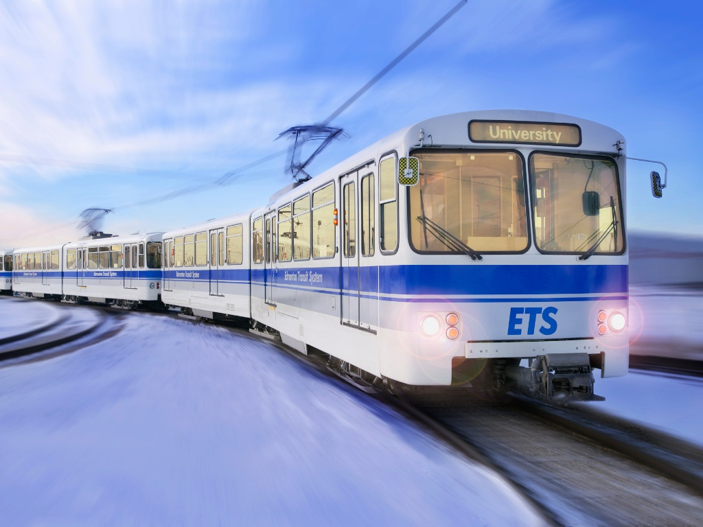 Edmonton is seeking federal funds for both transit operations and future transit projects. (Courtesy of the City of Edmonton)