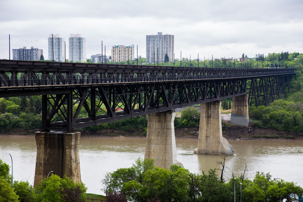 Edmonton's North Saskatchewan River valley is the largest urban park in North America. (Mack Male/Flickr)