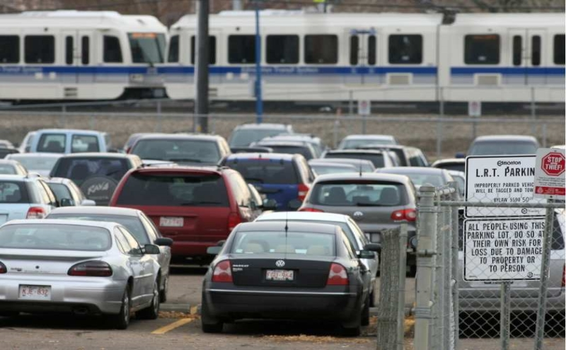 Park and ride in Edmonton