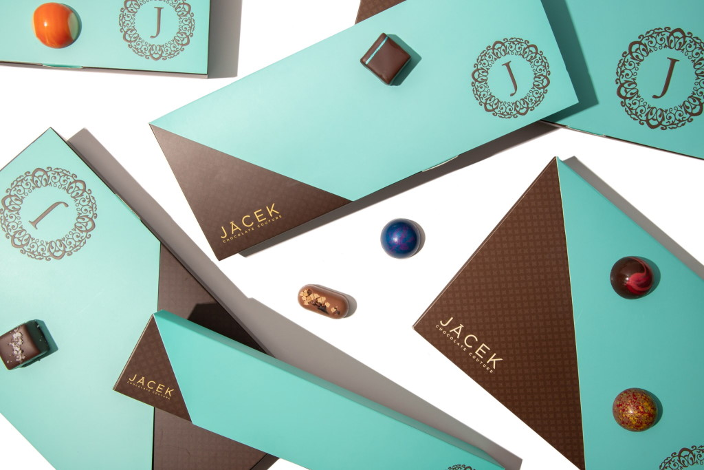 Jacek Chocolate Couture's custom boxes