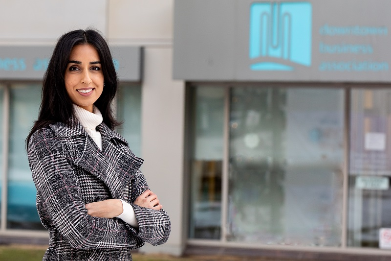 Edmonton marketer Puneeta McBryan is the new executive director of the Downtown Business Association.