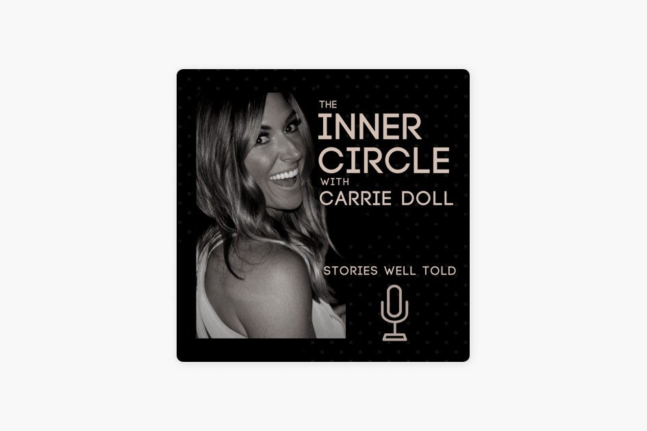 The podcast artwork for The Inner Circle with Carrie Doll