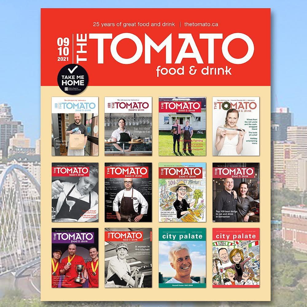 The Tomato's 25th anniversary cover