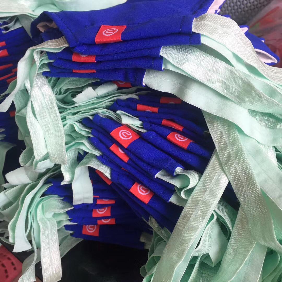 A pile of masks from Unbelts. (Unbelts)