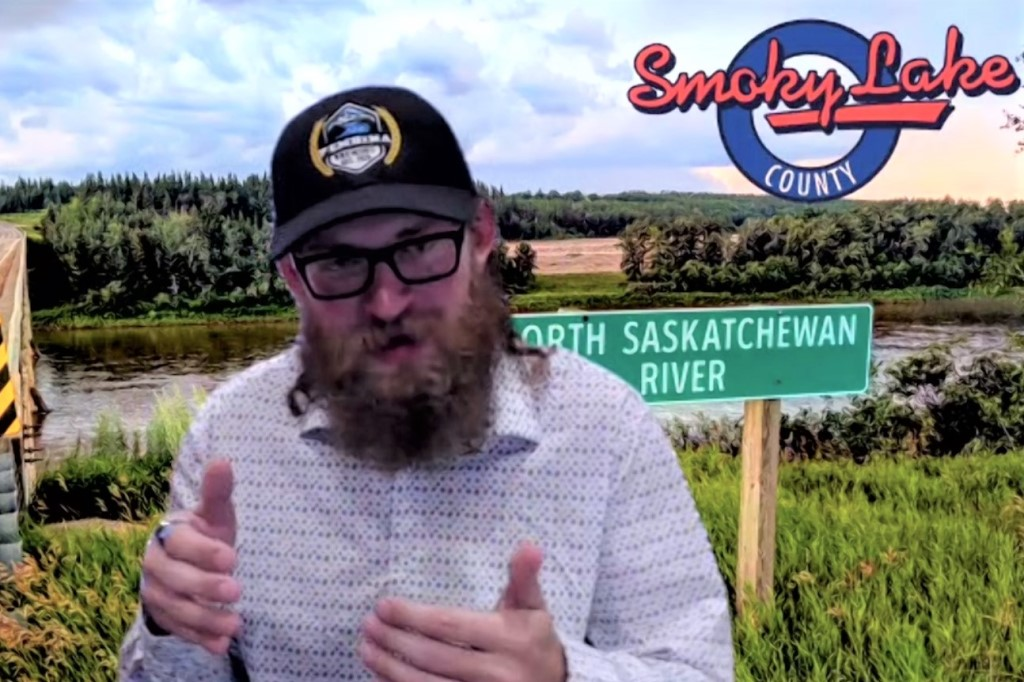 "Kyle Schole describes himself as a ""recovering kayak addict"" who learned the cultural value of the North Saskatchewan River by paddling on it. (Taproot Edmonton)"