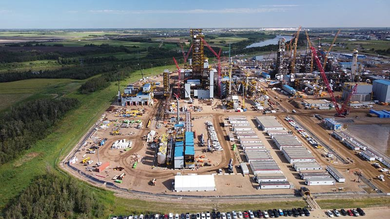 Province provides $408M grant for Heartland Petrochemical Complex