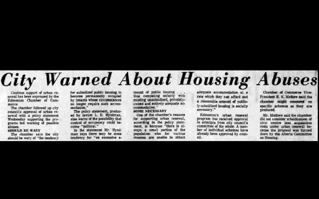 A clipping from Oct. 7, 1965.