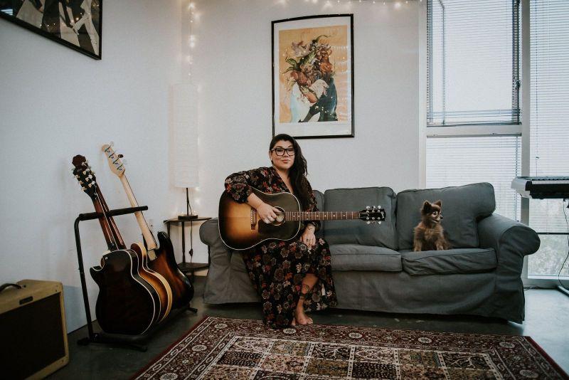 Singer-songwriter Celeigh Cardinal is among the recipients of the 2020 Edmonton Artists' Trust Fund. (celeighcardinal.com/Megan Kemshead Photography)