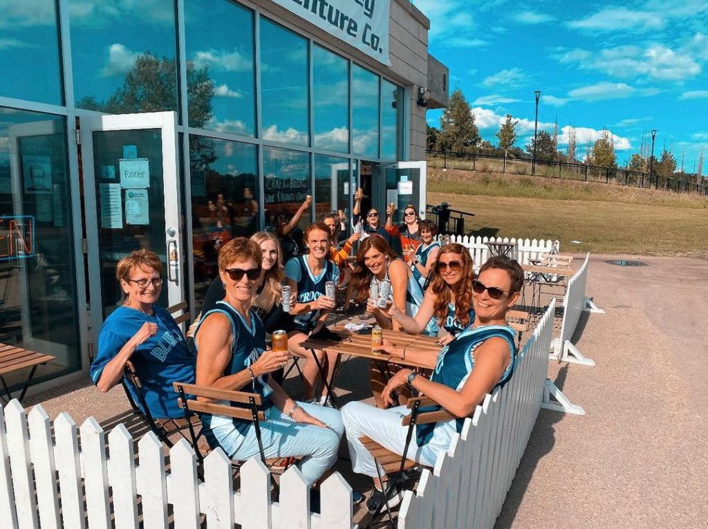 River Valley Adventure Co. patio