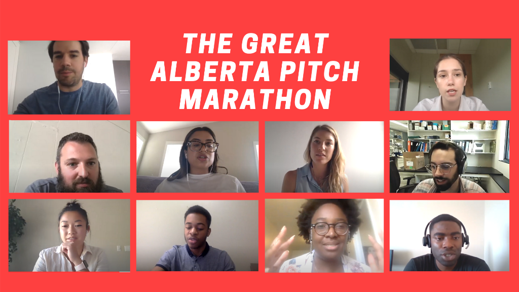 The Great Alberta Pitch Marathon in 2020