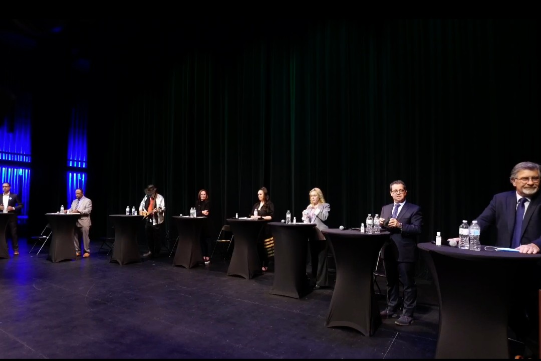 Eight mayoral candidates spoke at the Africa Centre's forum.