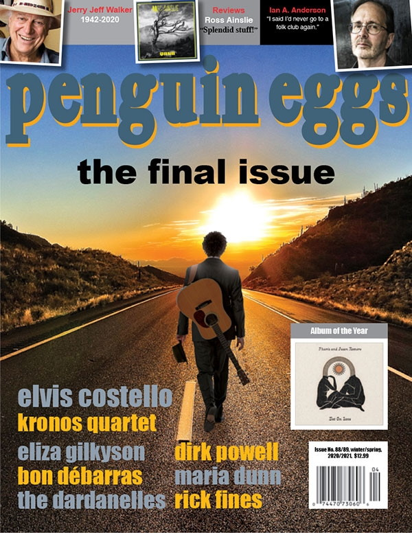 The cover of Penguin Eggs' final issue, #88/89, a double edition for Winter/Spring 2021. (Penguin Eggs)