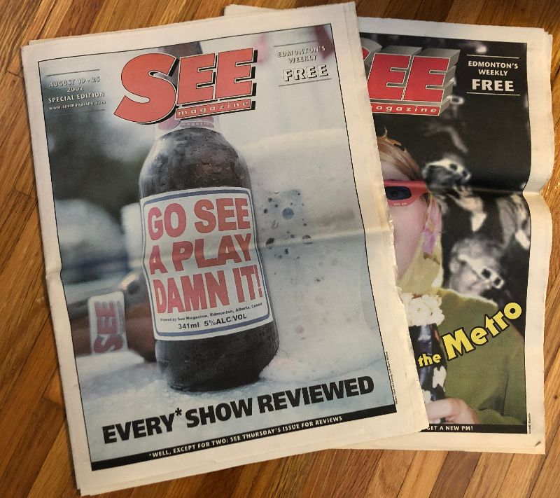 Writers crowdfund digitization of SEE Magazine