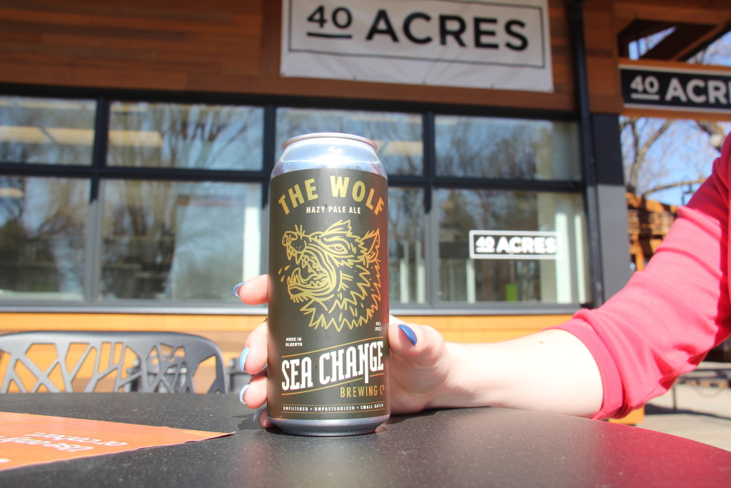 Sea Change Brewing at 40 Acres
