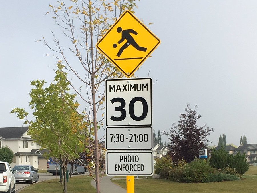 Leduc installed speed cameras at three intersections in 2019, capturing over 500 violations in a week. (City of Edmonton)