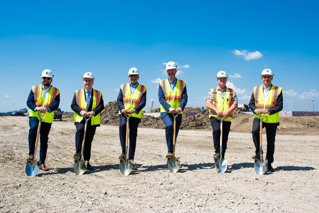 Montreal-based plastics company breaks ground on new manufacturing facility in Edmonton