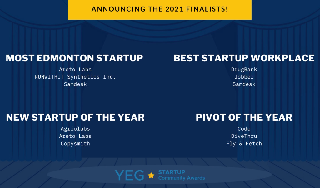 YEG Startup Community Awards