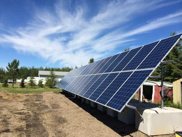 The city offers partial rebates for citizens who decide to install home solar panels. (Kuby Renewable Energy Ltd.)