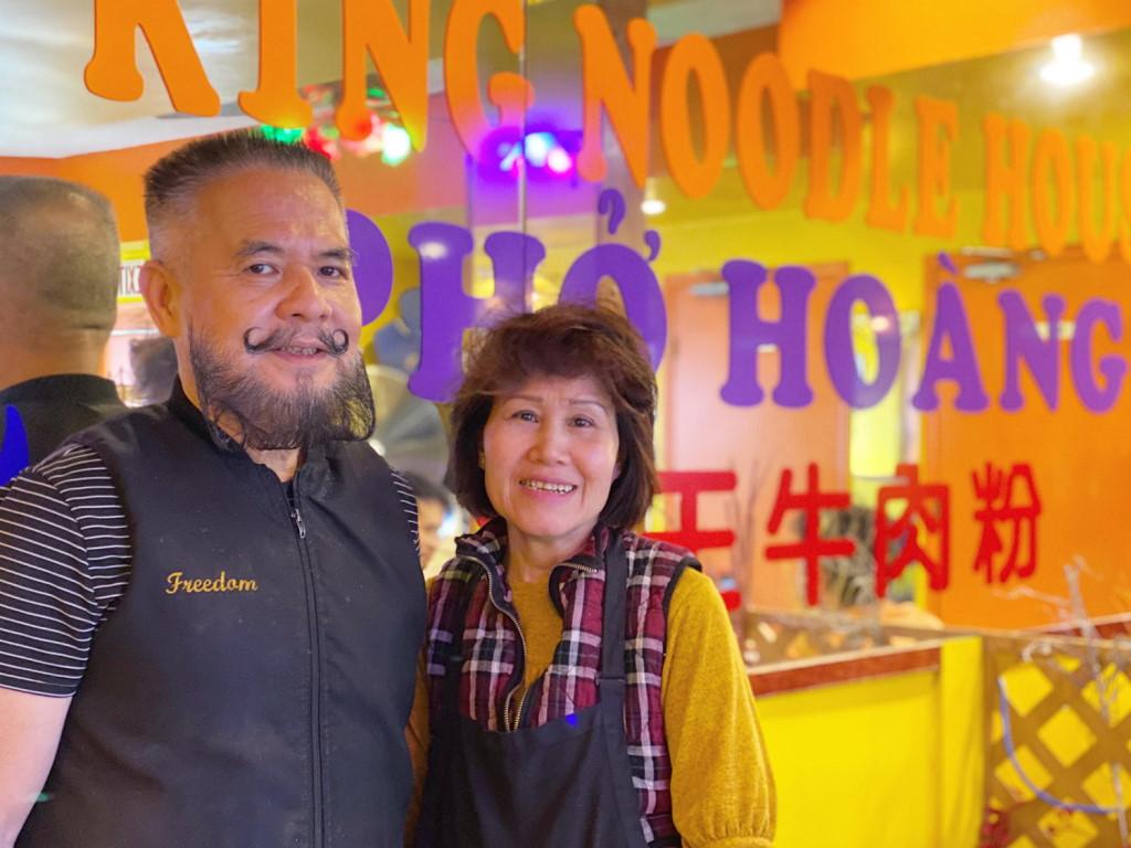 Tan Hoang and Hoa Sen Dao