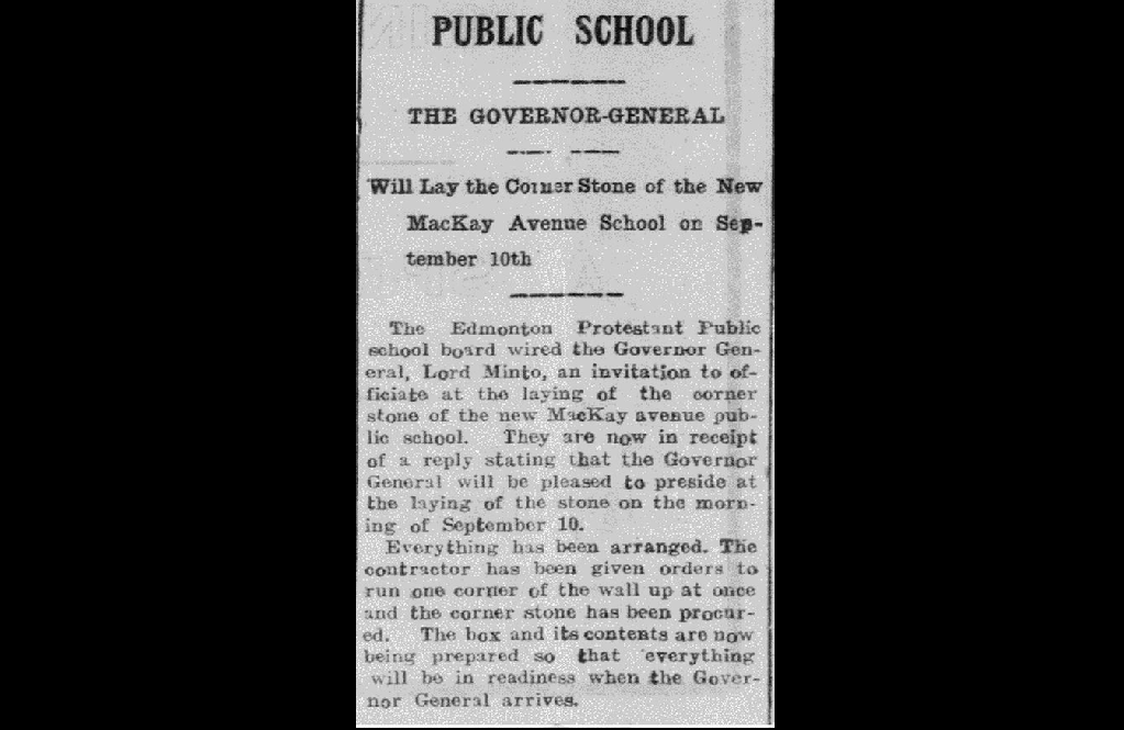 A clipping from Sept. 2, 1904.