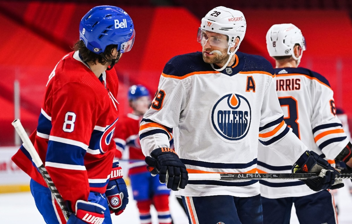 Connor McDavid is lighting up the net but Edmonton sports franchises are losing financially to the pandemic. (Courtesy of the Edmonton Oilers)