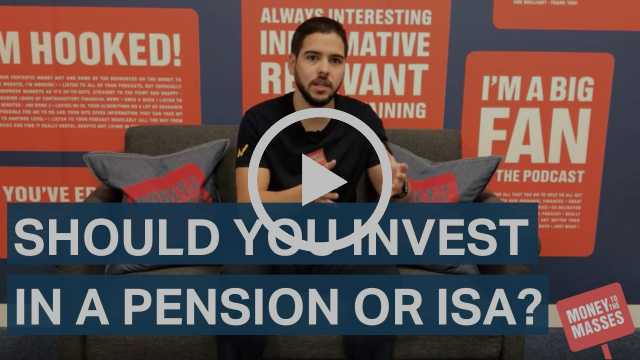 Should you invest in a pension or ISA?