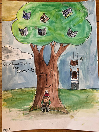 Colorado Tree Coalition 5th Grade Arbor Day Poster Contest Winner