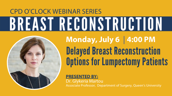 Delayed Breast Reconstruction Options for Lumpectomy Patients