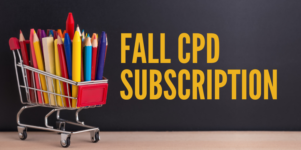 Fall CPD Subscription