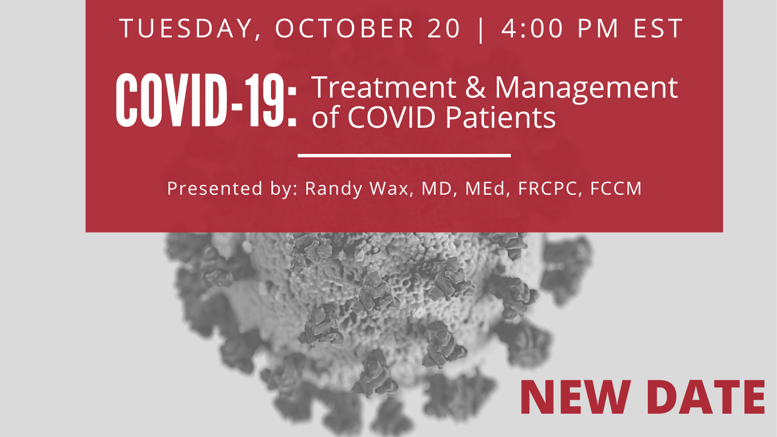 COVID-19 : Treatment and Management of COVID patients