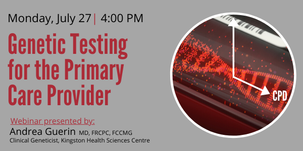 Genetic Testing for the Primary Care Provider