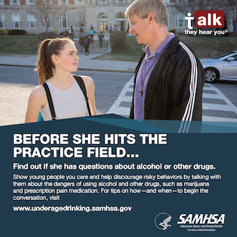 Source File: Talk. They Hear You: Before She Hits the Practice Field