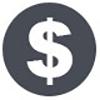 Money sign icon