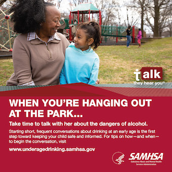 Source File: Talk. They Hear You: When You're Hanging Out at the Park