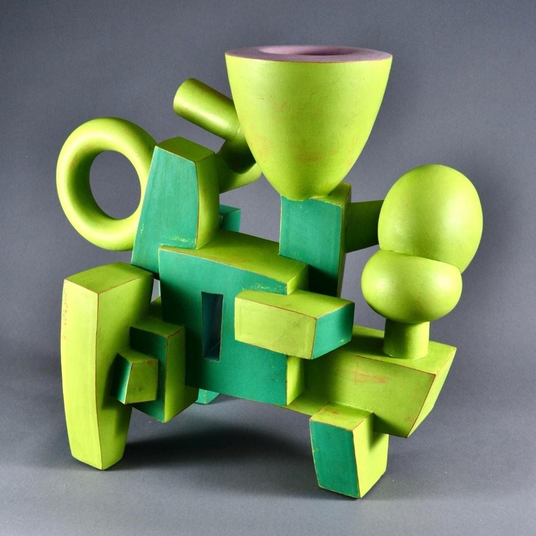 Doug Herren,Green Vase-Form