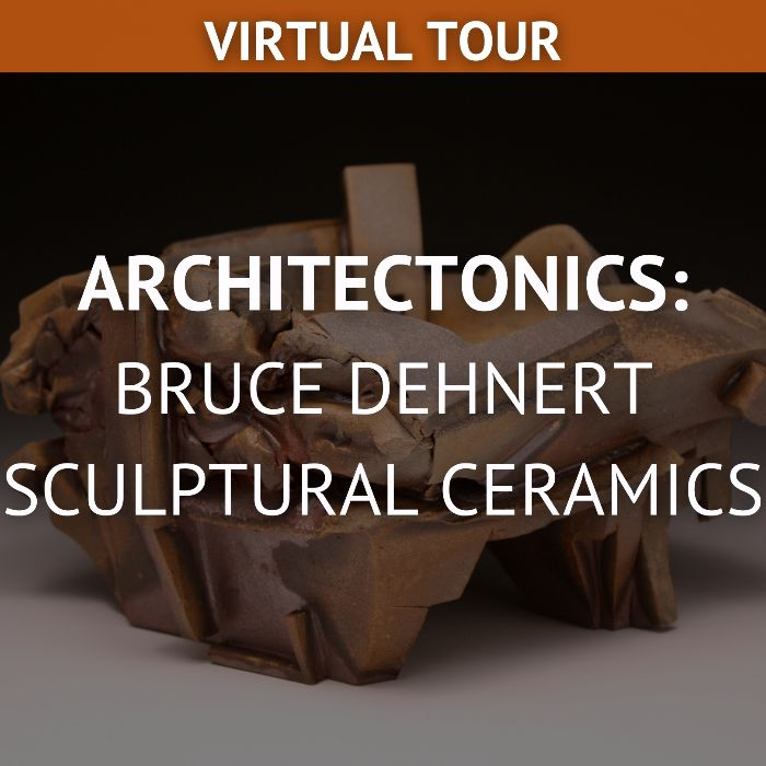 bruce dehnert sculptural ceramics virtual tour