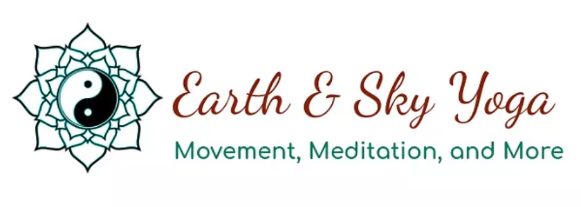 earth and sky yoga logo