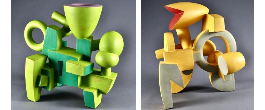Doug Herren: Color-Forms/Ceramic Structures