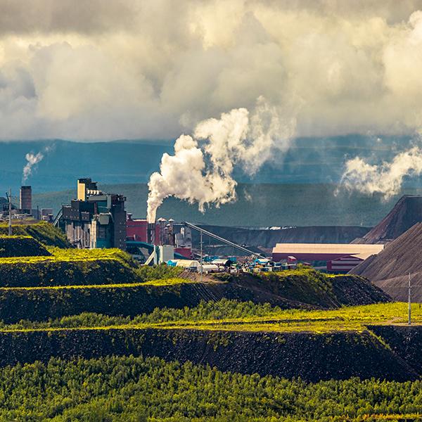 Mining activities in Sweden