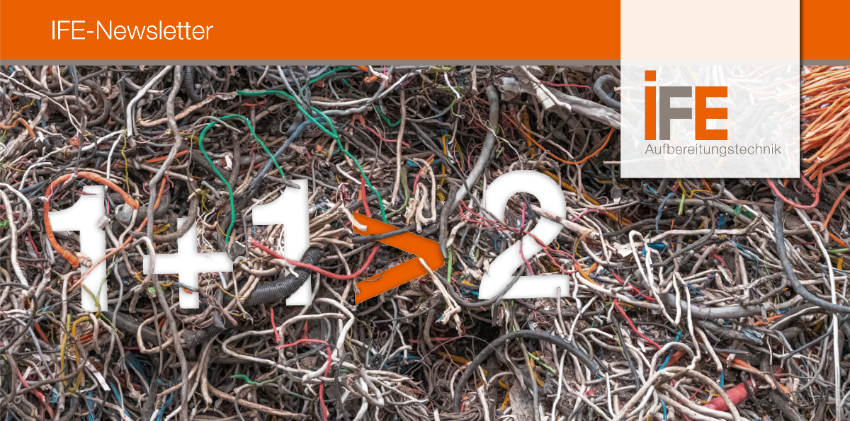 IFE Newsletter / Kabelschrottaufbereitung